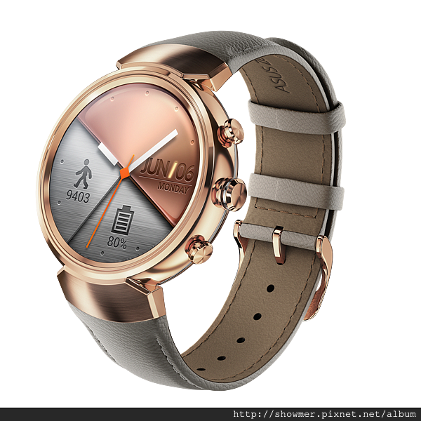 ZenWatch 3_Rose gold with leather_WI503Q