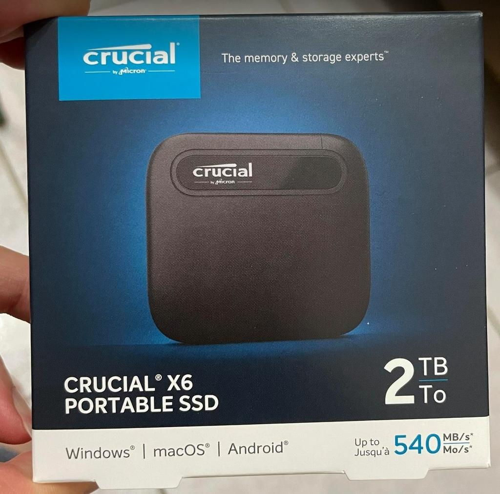 Micron Crucial X6