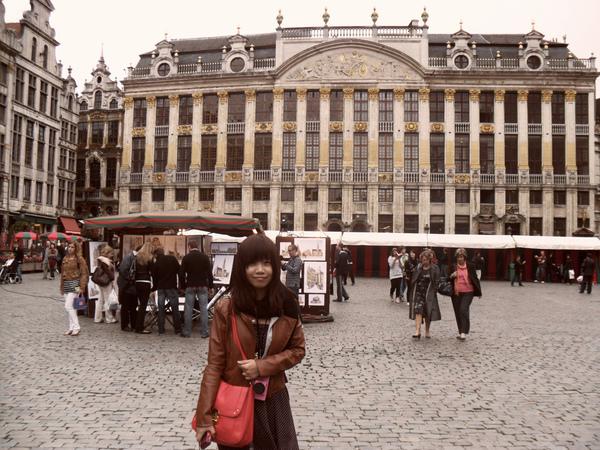 比利時的廣場