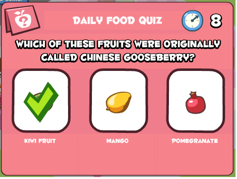 What is chinese gooseberry called in ancient time.bmp