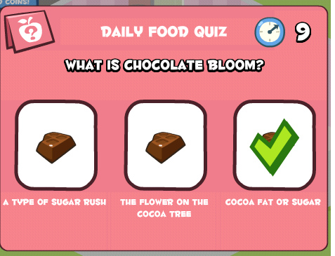 What is chocolate bloom.bmp