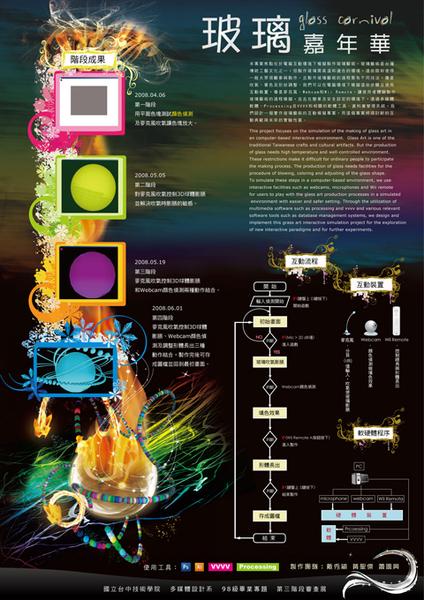 專題第三階段-海報設計