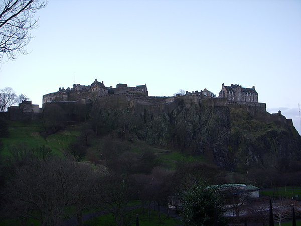 Castle on the mountain