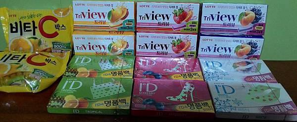 LOTTE 韓國人氣商品組合