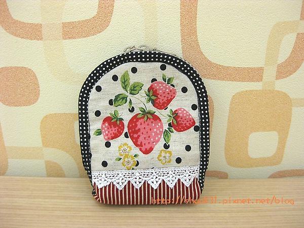 草莓相機袋