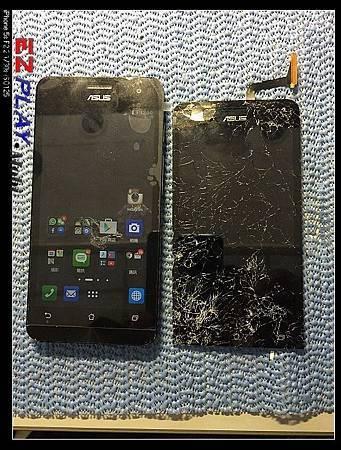 摔得稀八爛的ASUS ZENFONE 5手機
