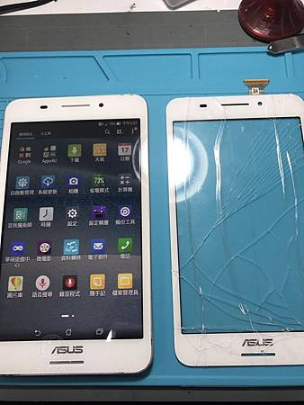 ASUS Fonepad 7觸控面板破裂
