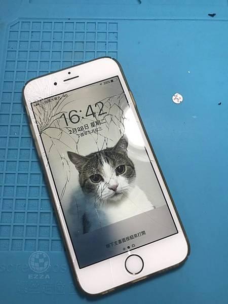 IPHONE6破碎的面板