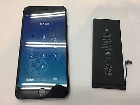 iphone6+更換電池