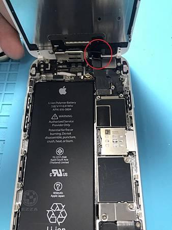 IPHONE 6感光排線斷裂
