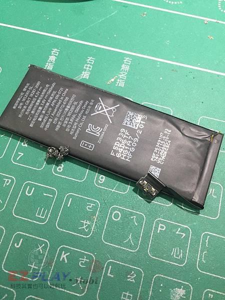5S電池膨脹