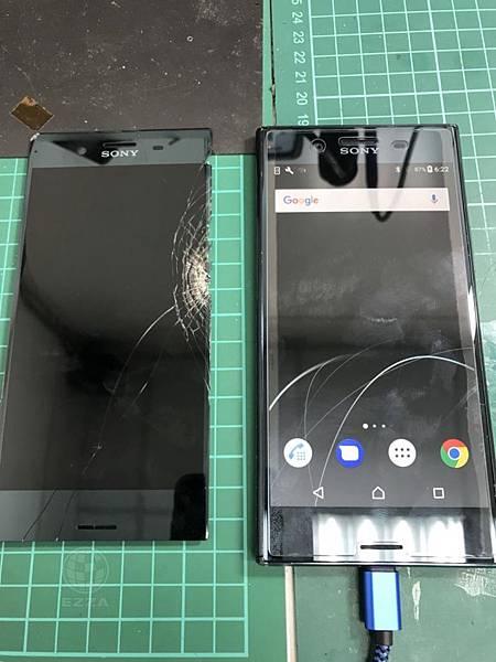 SONY XZP面板破裂