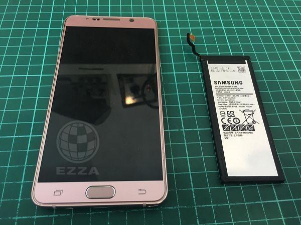 三星Note5更換電池