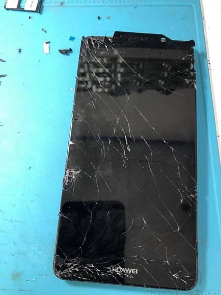 華為MATE9面板破裂