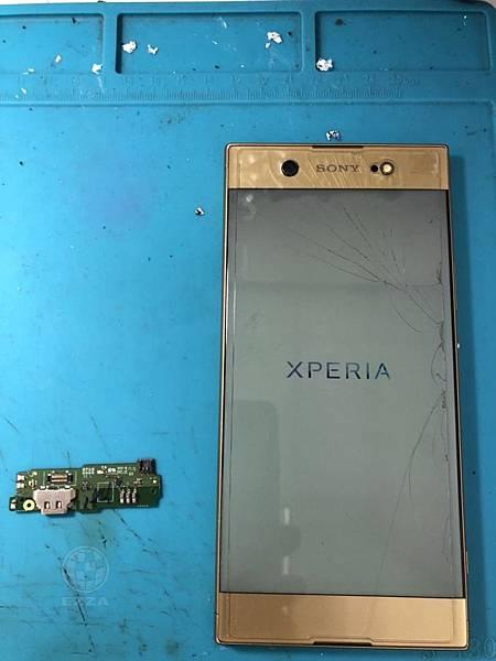 SONY XA1U充電接觸不良