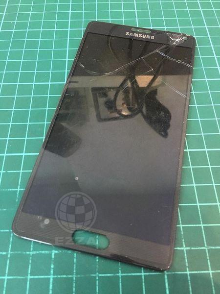 三星Note4面板破裂
