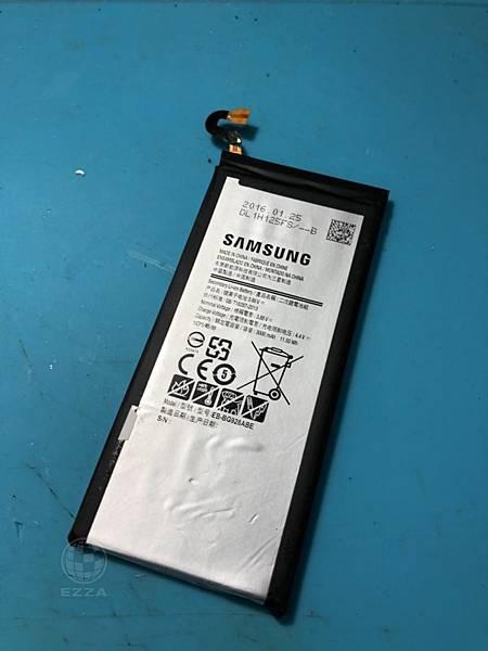 三星S6edge+更換電池