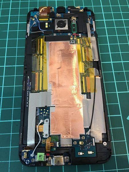 HTC M9+掉進馬桶