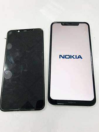 Nokia8.1無法顯示