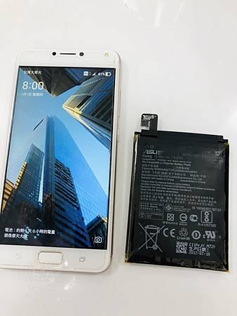 ZenFone 4 Max電池膨脹