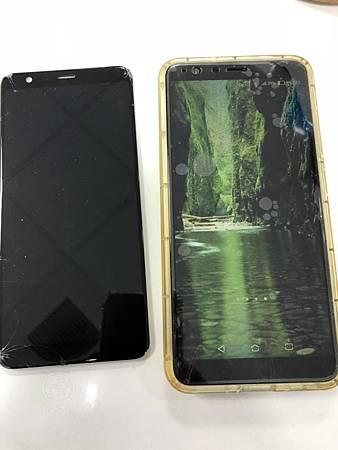 ASUS ZenFone Max Plus面板破裂