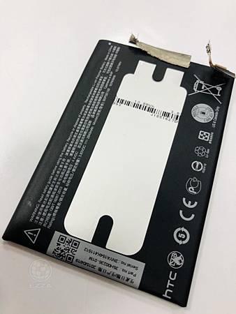 HTC M9+電池更換