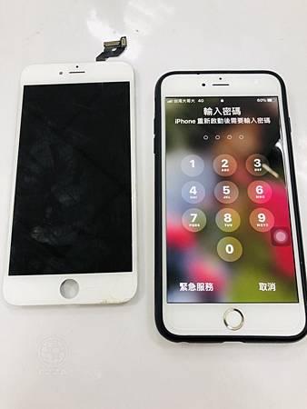 IPHONE6S+更換面板