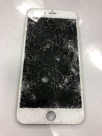IPHONE6S+被車輾過