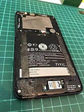 htc 816電池膨脹