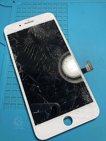 IPHONE 7+摔破啦