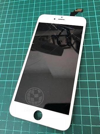 iphone6+面板破裂