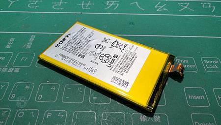 Z5C電池膨脹
