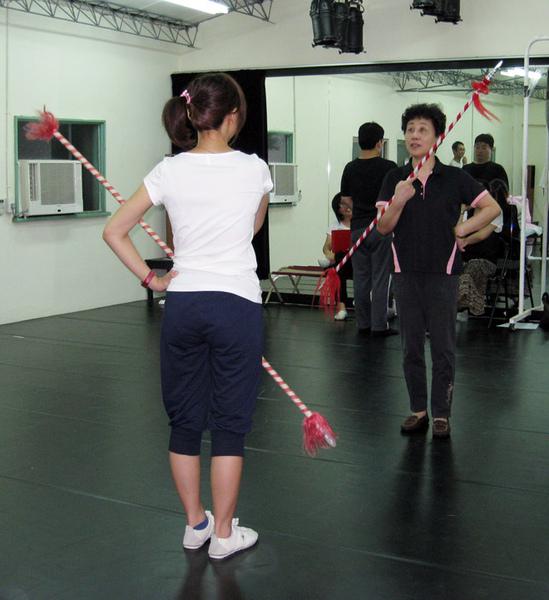 大王老師教耍槍