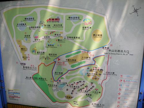 兒童樂園地圖 (by ShuLin)