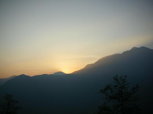 6:18日出前一秒 (by ShuLin)