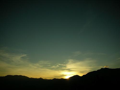 阿里山日出了!