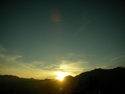 阿里山日出