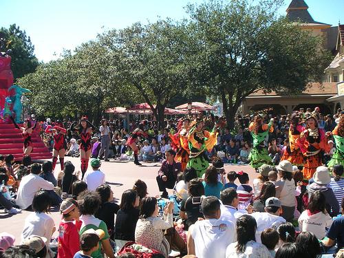 Disney萬聖月尖叫大遊行-美女舞者