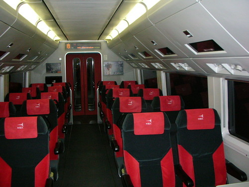 JR Narita Express內部