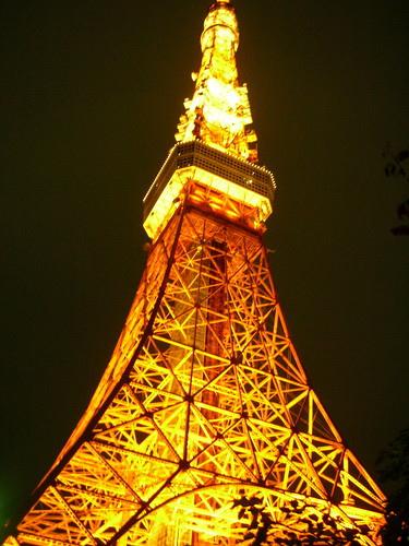 東京鐵塔近拍