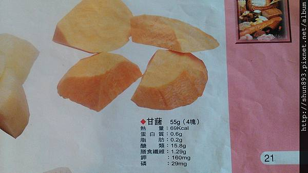 甘薯地瓜的糖類計算.jpg