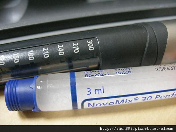 第一型糖尿病筆針劑量