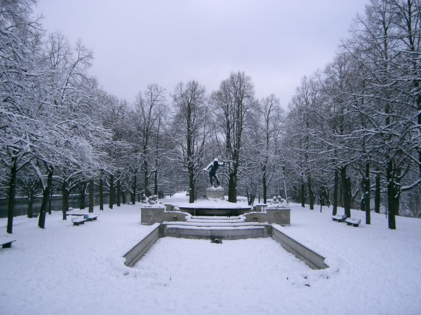 Isar雪景