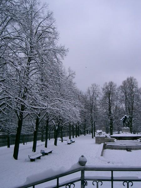 Isar雪景2