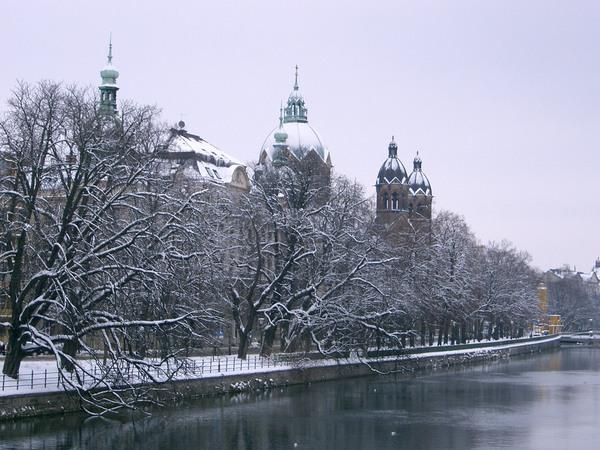 Isar雪景3