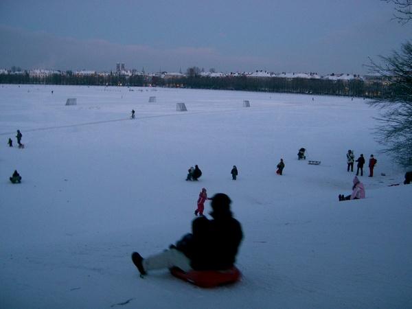 Theresienwiese滑雪場