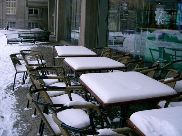 Schneetisch
