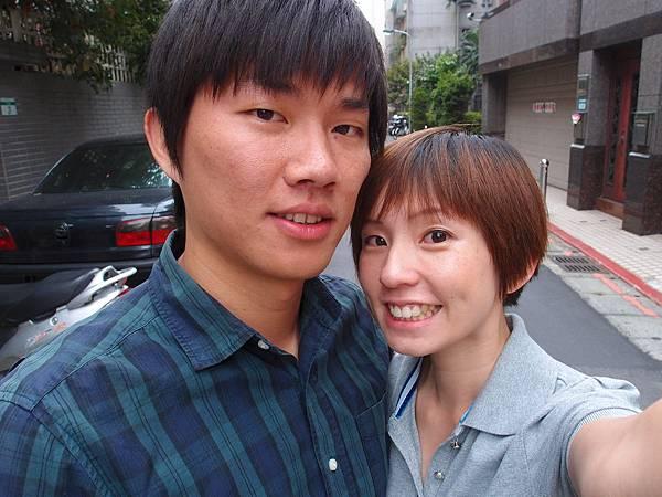 星期五下班後,帶著滿車的鹹酥雞跟水餃上台北,好險都沒有塞車!