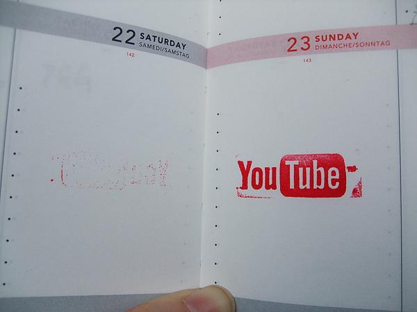 耶!筆記本上蓋了youtube!