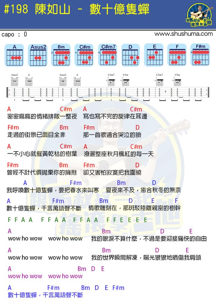 #198 陳如山 - 數十億隻蟬